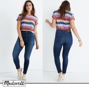 Madewell Curvy High-Rise Skinny Jeans in Danny